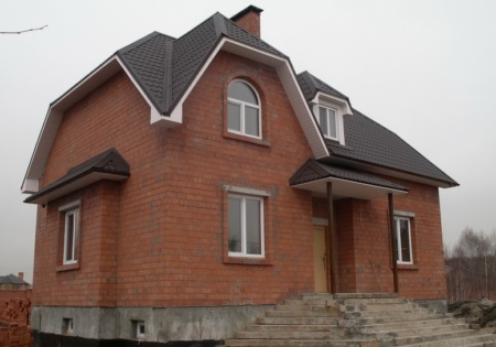 Строительство дома Тверская обл.